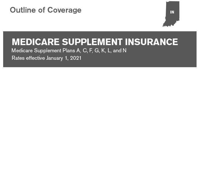 Medicare Supplement Outline of Coverage