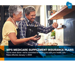 Medicare supplement insurance plan brochure